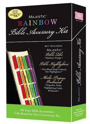 Majestic Rainbow Bible Accessory Kit