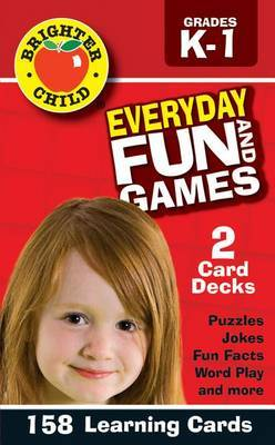 Everyday Fun and Games Flash Cards, Grades K - 1