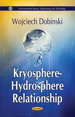 Kryosphere - Hydrosphere Relationship