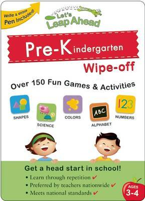 Let's Leap Ahead Pre-K Wipe-off