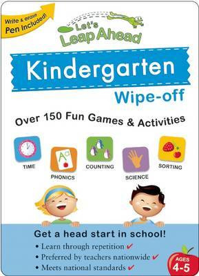 Let's Leap Ahead Kindergarten Wipe-off