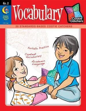 Cootie Catchers, Vocabulary, Grade 2