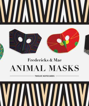 Fredericks & Mae Animal Mask Notecards