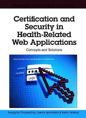 Certification and Security in Health-Related Web Applications: Concepts and Solutions