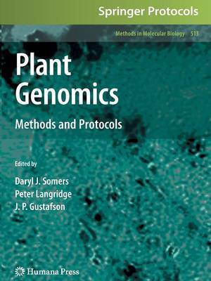 Plant Genomics: Methods and Protocols