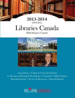 Libraries Canada, 2013