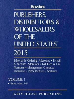 Publishers, Distributors & Wholesalers in the US, 2015: 2 Volume Set