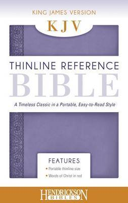 KJV Thinline Reference Bible Lilac: A Timeless Classic in a Portable, Easy-to-Read Style