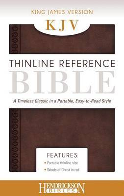 KJV Thinline Reference Bible Chestnut Brown: A Timeless Classic in a Portable, Easy-to-Read Style
