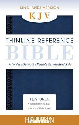 KJV Thinline Reference Bible Midnight Blue: A Timeless Classic in a Portable, Easy-to-Read Style