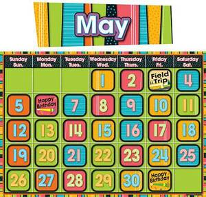 Stylin' Stripes Calendar Calendar