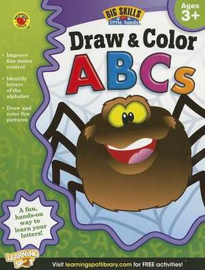 Draw & Color ABCs, Ages 3 - 5