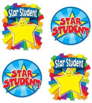 Star Student Temporary Tattoos