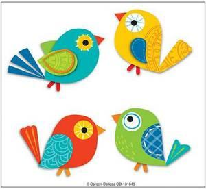 Boho Birds Temporary Tattoos
