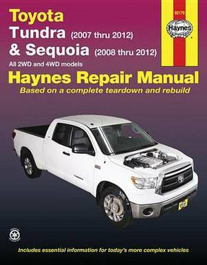 Toyota Tundra/Sequoia Automotive Repair Manual: 07-12