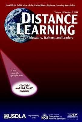 Distance Learning Magazine, Volume 11, Issue 4, 2014