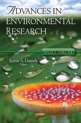 Advances in Environmental Research: Volume 31