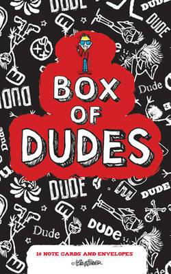 Box of Dudes Note Cards: 16 Note Cards and Envelopes