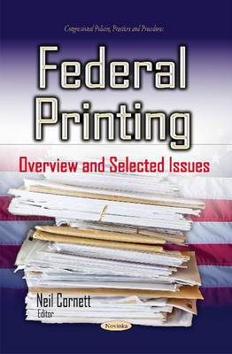 Federal Printing: Overview & Selected Issues