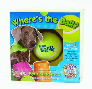 Where's the Ball, a Dog Tricks Kit: Engage, Challenge, and Bond with Your Dog