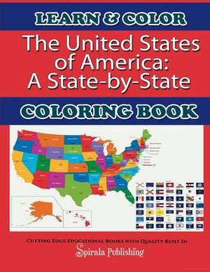 The United States of America: A State-By-State Coloring Book