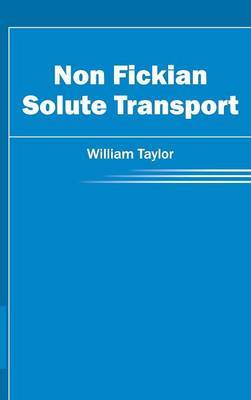 Non Fickian Solute Transport