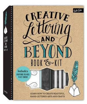 creative lettering and beyond  - Creative Lettering and Beyond Art & Stationery Kit ...
