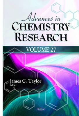 Advances in Chemistry Research: Volume 27