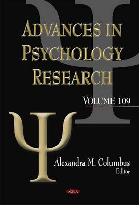 Advances in Psychology Research: Volume 109