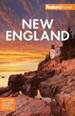 Fodor's New England: with the Best Fall Foliage Drives & Scenic Road Trips