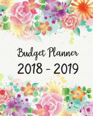 magrudy com budget planner 2018 2019 daily weekly monthly