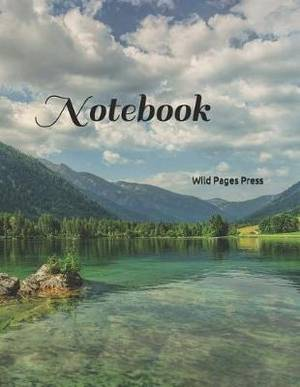Notebook: Large Size 8.5 X 11 Ruled 150 Pages Softcover