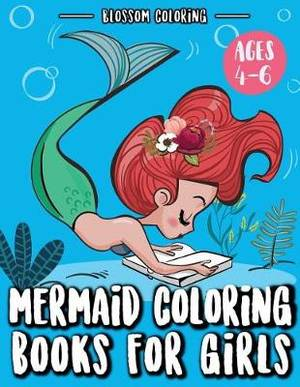 Magrudy Com Mermaid Coloring Books For Girls Illustrations Of