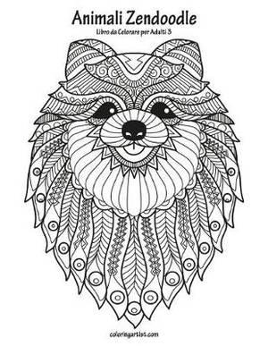 Magrudycom Animali Zendoodle Libro Da Colorare Per Adulti 3