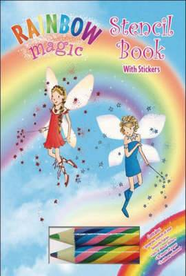 Rainbow Magic Stencil Book