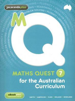 Maths Quest 7 Australian Curriculum Edition & EBookPLUS
