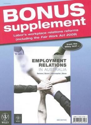 Employment Relations Update 2010