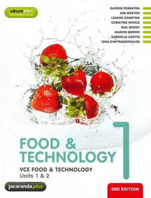 VCE Food and Technology Units 1 and 2 Book 1 + EBookPLUS
