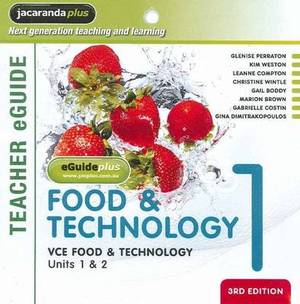 VCE Food and Technology Units 1 and 2 Book 1 EGuidePLUS (Registration Card)
