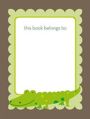 Green Croc Bookplate
