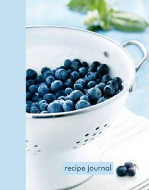 Blueberry Colander Small Recipe Journal