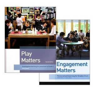 Kathy Walker Set (Play Matters 2nd Ed & Engagement Matters)