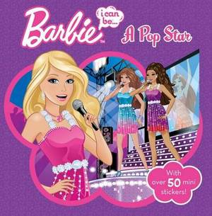 Barbie I Can be A Pop Star Storybook