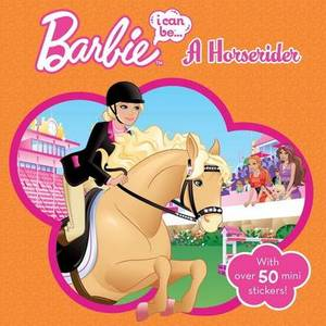 Barbie I Can be a Horserider Storybook