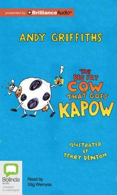 The Big Fat Cow That Goes Kapow: Library Edition