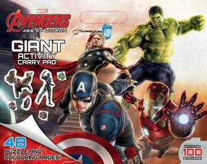 Marvel Avengers - Age of Ultron Giant Activity Pad