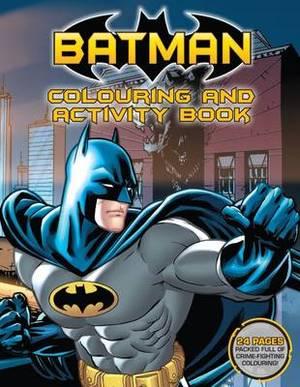 Batman Colouring and Activity Book