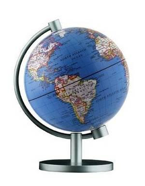 Insight Globe: Dual Political / Physical Illuminated Globe