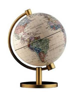 Insight Globe: Dual Antique / Physical Illuminated