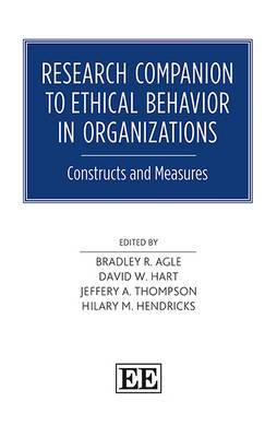 Research Companion to Ethical Behavior in Organizations: Constructs and Measures